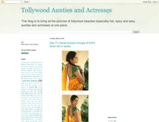 tollywoodaunties.blogspot.com screenshot