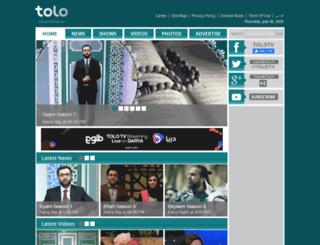 tolo.tv screenshot
