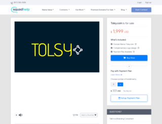 tolsy.com screenshot