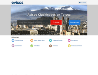 toluca.evisos.com.mx screenshot