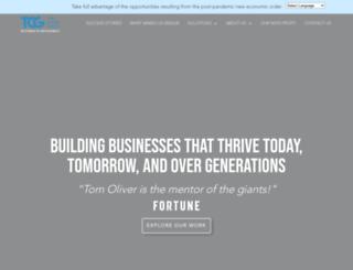 tom-oliver.com screenshot