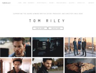 tom-riley.com screenshot