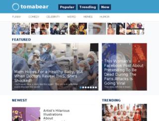 tomabear.com screenshot