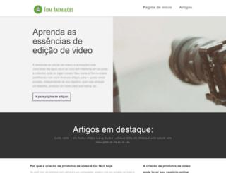 tomanimacoes.com.br screenshot