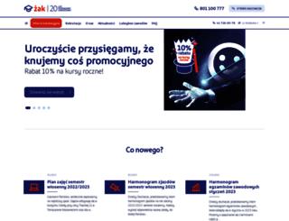 tomaszow-mazowiecki.zak.edu.pl screenshot