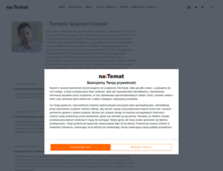 tomaszwojciechowski.natemat.pl screenshot