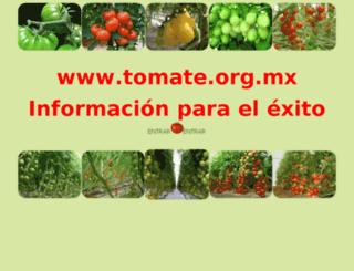 tomate.org.mx screenshot