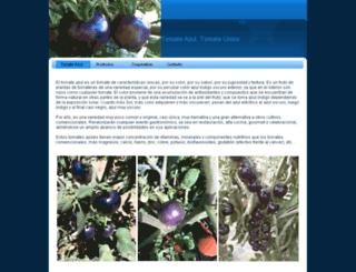 tomateazul.es screenshot