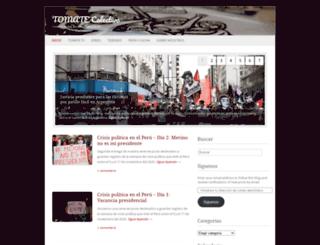 tomatecolectivo.wordpress.com screenshot