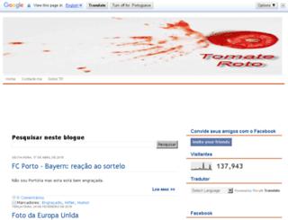 tomateroto.blogspot.com screenshot