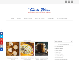 tomatoblues.com screenshot