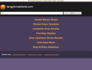 tomatotwist.blogspot.in screenshot