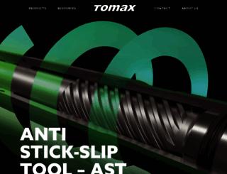 tomax.no screenshot