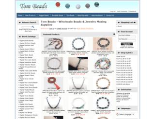 tombeads.com screenshot