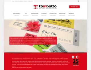 tombotto.ch screenshot