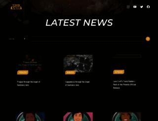 tombraider.com screenshot
