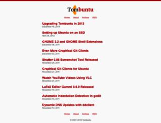 tombuntu.com screenshot