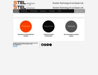 tomcat.steltechnology.com screenshot