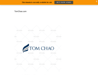 tomchao.com screenshot