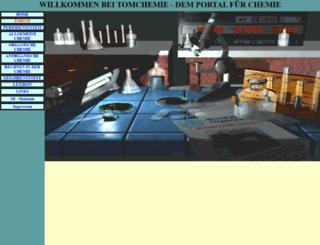 tomchemie.de screenshot