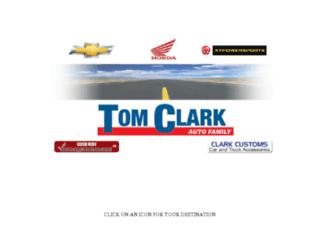 tomclarkautofamily.com screenshot