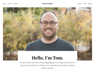 tomdrake.net screenshot