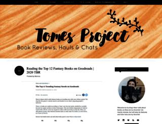 tomesproject.blogspot.com.es screenshot