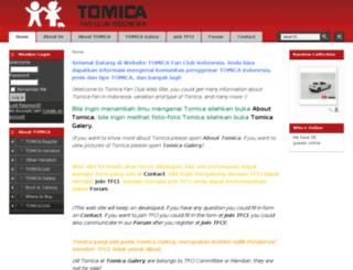 tomicafci.org screenshot