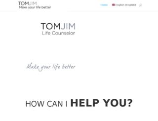 tomjim.com screenshot