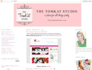 tomkatstudio.blogspot.com screenshot