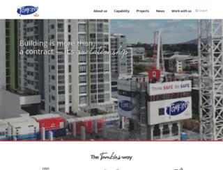 tomkinscommercial.com.au screenshot