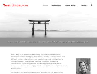 tomlinde.com screenshot