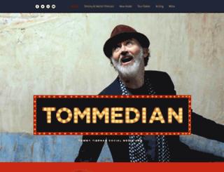 tommedian.com screenshot