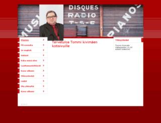 tommikivimaki.fi screenshot