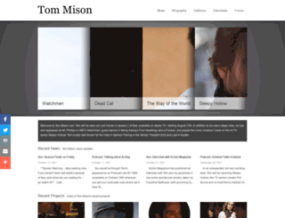 tommison.co.uk screenshot
