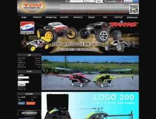 tommotor-rc.com screenshot