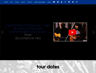 tommyemmanuel.com screenshot
