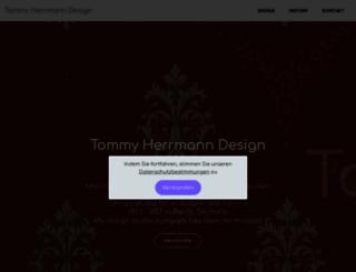 tommyherrmanndesign.com screenshot
