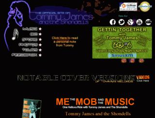 tommyjames.com screenshot