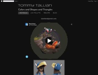 tommytallian.blogspot.pt screenshot