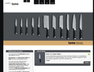 tomo-messer.com screenshot