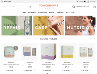 tomorrowsbody.com screenshot