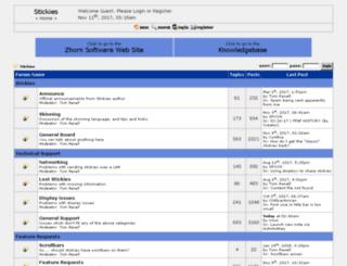 tomrevell.conforums.com screenshot