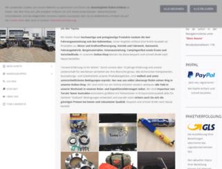 toms-fahrzeugtechnik-shop.eu screenshot