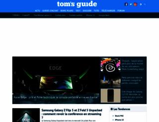 tomsguide.fr screenshot