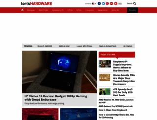 tomshardware.com screenshot