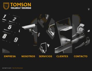 tomson.es screenshot