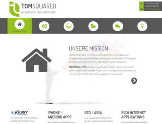 tomsquared.de screenshot