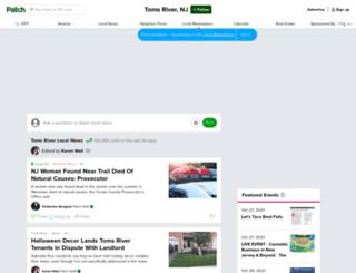 tomsriver.patch.com screenshot