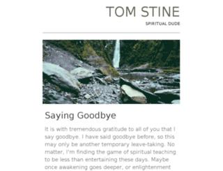 tomstine.com screenshot